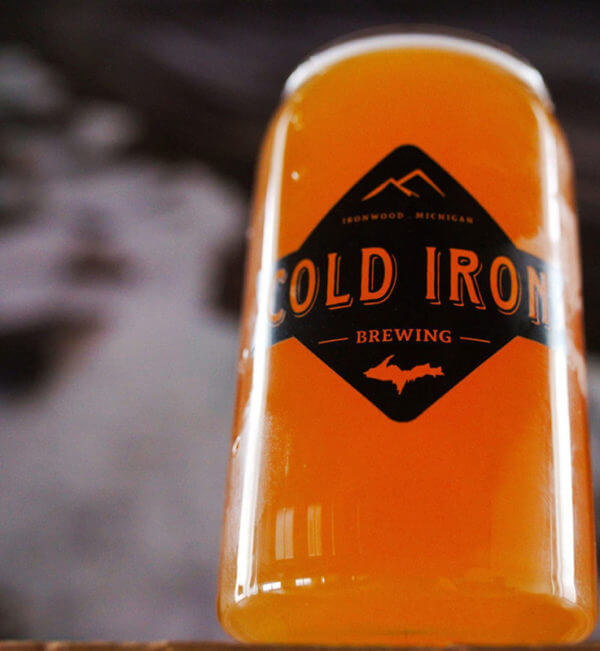 Cold Iron Brewing Downtown Ironwood Michigan