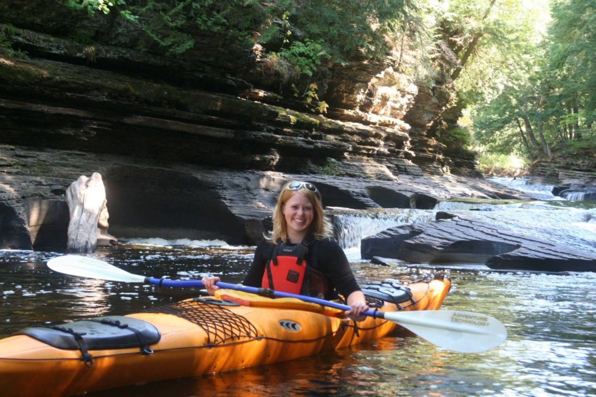 Presque Isle River Kayaking