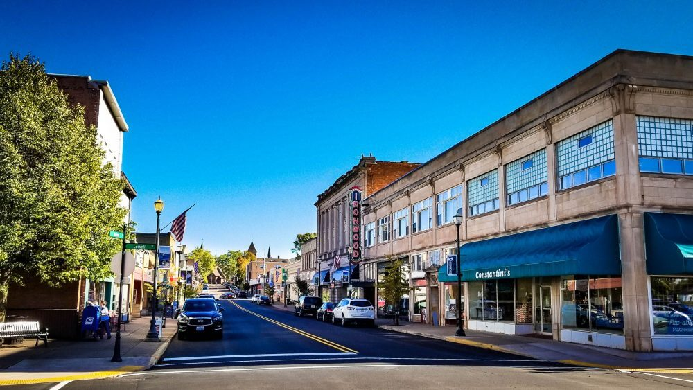 Downtown-Ironwood Michigan