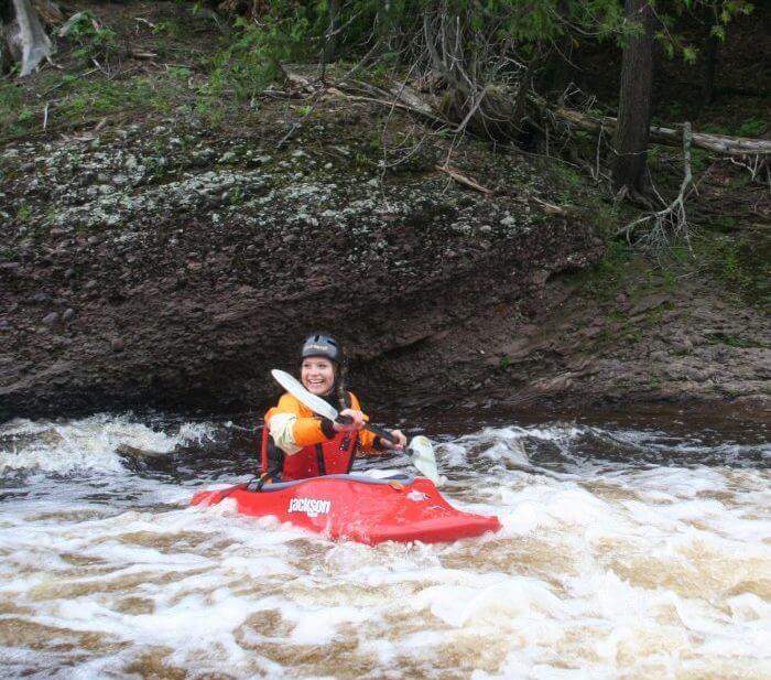 Ironwood MI Whitewater Kayak
