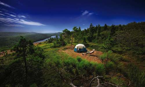 Porcupine back country camping