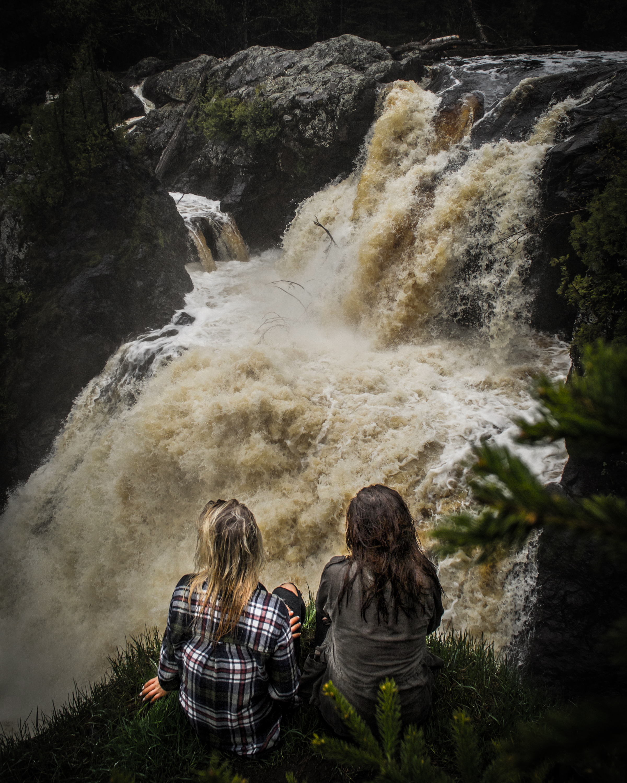 Gabbro Falls Ironwood Michigan