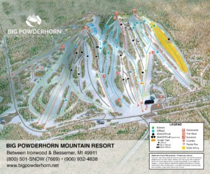 View Big Powderhorn Mountain Trail Map