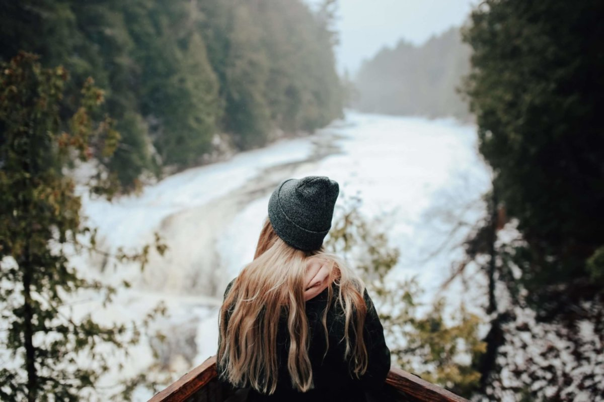 winter hike sm
