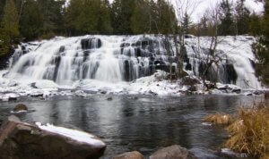 Bond Falls Ironwood Michigan